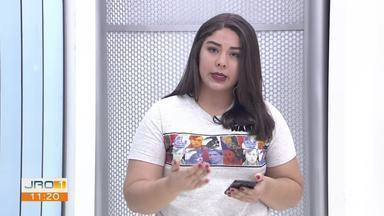 Ana Kézia, editora do G1 RO, comenta sobre as promessas do prefeito Hildon Chaves - O G1 RO preparou uma reportagem especial sobre as promessas que foram cumpridas, cumpridas em partes e não cumpridas.