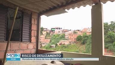Mais de mil edificações estão em situação de risco em Belo Horizonte - No período chuvoso, o perigo para os moradores aumenta, mas muitos resistem em deixar as casas.