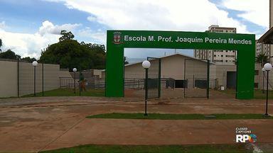 Escola Municipal de Londrina ganha prédio novo - Construção fica no jardim Colina Verde, próximo à UEL. Outras 23 escolas estão passando por reforma ou ampliação nessas férias.