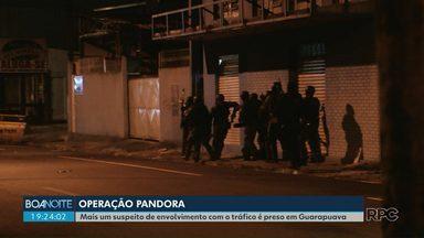 Homem é preso em Guarapuava suspeito de envolvimento no tráfico de drogas - Ele estava foragido desde dezembro do ano passado.