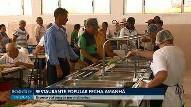 Restaurante Popular de Londrina fecha nesta sexta-feira (4) - Local vai passar por reformas que devem durar três meses.