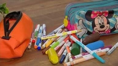 Material escolar deve ficar entre 8 e 10% mais caro esse ano - O material escolar está mais caro. Do lápis a mochila, o aumento varia de 8 a 10%, segundo a Associação Brasileira dos Fabricantes e Importadores de artigos escolares.