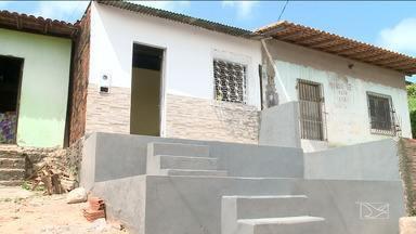 Ouvinte da Rádio Mirante AM recebe casa nova em São Luís - Ele teve a casa reformada depois de ganhar a promoção 'Minha Casa Renovada' feita pela rádio.