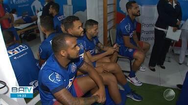 Bahia reapresenta elenco e atletas passam por exames médicos no Fazendão - O time dará inicio ao planejamento para o ano de 2019.