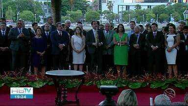 Secretários tomam posse na 2ª gestão de Paulo Câmara - Cerimônia aconteceu no Recife.