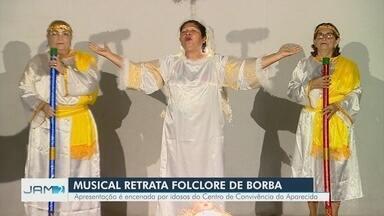 Musical das Pastorinhas de Borba é apresentado neste sábado em Manaus - Apresentação é encenada por idosos do Centro de Convivência da Aparecida