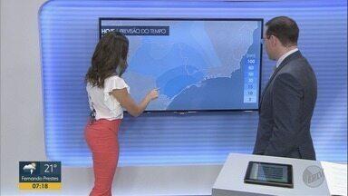 Confira a previsão do tempo para esta sexta-feira (4) na região de Ribeirão Preto - Dia começou com chuva em algumas cidades.