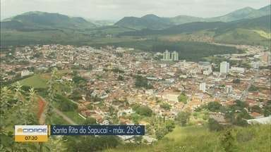 Confira a previsão do tempo para Santa Rita do Sapucaí, MG - Confira a previsão do tempo para Santa Rita do Sapucaí, MG