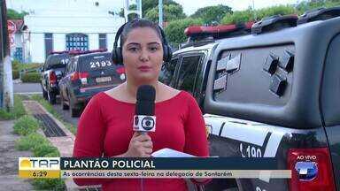 Confira o giro com as notícias da área policial desta sexta no Bom Dia Tapajós - Veja as principais notícias da área policial desta sexta (2).