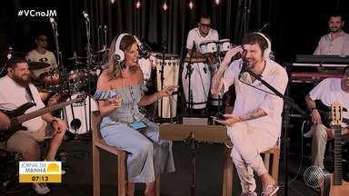 'Sente o Som': novo programa da TV Bahia terá música e curiosidades sobre artistas - Confira os detalhes do programa que estreia nesse sábado (5).