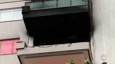 'Sobraram paredes', diz engenheiro sobre apartamento que explodiu em Farroupilha - Acidente ocorreu no dia 26 de dezembro e deixou uma mulher gravemente ferida.
