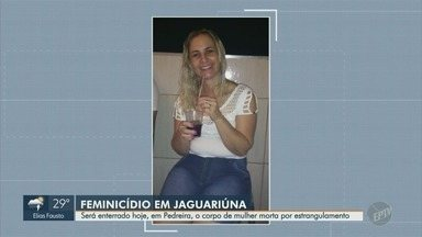 Mulher morta por estrangulamento é enterrada em Pedreira nesta sexta - Queli Aparecida foi morta dentro de um motel em Jaguariúna (SP). Primeiro caso de feminicídio na região.