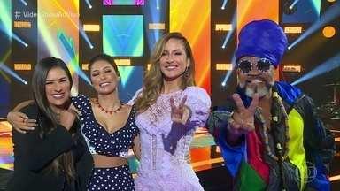 Técnicos do 'The Voice Kids' gostavam de cantar desde pequenos - Carlinhos Brown, Claudia Leitte e Simone & Simaria relembram a infância