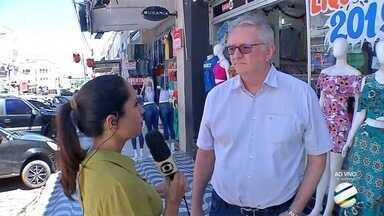 Campanha de Natal de Corumbá tem último sorteio de prêmios neste sábado - Entre os prêmios deste sorteio estão uma televisão de 40 polegadas, lavadoura de rouba e fogão.