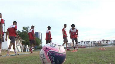Sergipe estreia na Copa São Paulo contra o Santos - Antes do embarque para São Paulo, equipe falou da expectativa para este confronto.