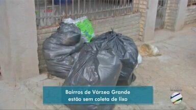 Bairros de Várzea Grande estão sem coleta de lixo - Bairros de Várzea Grande estão sem coleta de lixo.