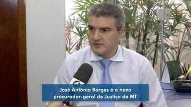 José Antônio Borges é o novo procurador-geral de Justiça de MT - José Antônio Borges é o novo procurador-geral de Justiça de MT.