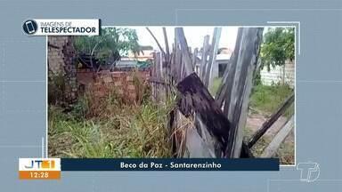 Veja denúncias e flagrantes enviados por telespectadores ao Jornal Tapajós - Mande vídeos, fotos e textos para o 93 99122 9460.