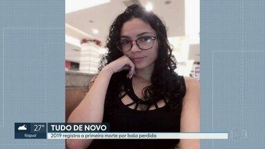 Jovem morre de bala perdida dentro de casa em Guadalupe - Marina Silva, de 22 anos, estava em casa com a mãe, os irmãos e os dois filhos, quando houve um tiroteio na comunidade de Palmeirinha. Uma bala atravessou uma janela e acertou a cabeça da jovem. Foi o primeiro caso registrado de bala perdida do ano.