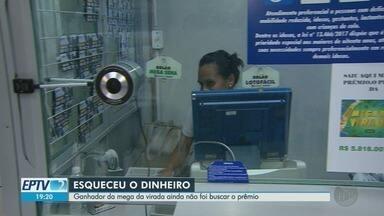 Ganhador da Mega da Virada ainda não foi buscar o prêmio em Ribeirão Preto - Sortudo levou R$ 5,8 milhões, mas ainda não retirou valor.