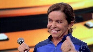 Hedla Lopes conta que foi atropelada durante treino de bicicleta - Triatleta já tinha pedalado 150 quilômetros quando foi atropelada por um ônibus no Ceará.