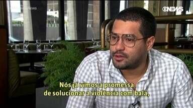 Oscar Martínez e a cobertura do crime organizado