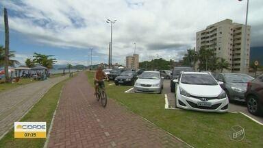 Ciclovia em Caraguatatuba é um dos destaques de lazer e esporte na cidade - EPTV na Praia mostra o que está rolando no litoral paulista neste verão.