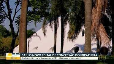Saiu o novo edital de concessão do Ibirapuera - Prefeitura diz que vai economizar R$ 1 bilhão com novo contrato