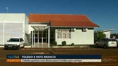 Pato Branco vai ter voo direto para Curitiba - O voo será operado uma vez por semana.