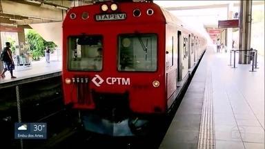 Ar-condicionado nos trens do metrô e da CPTM - Maioria das composições, segundo as companhias, possui o equipamento. Mas a percepção da população é diferente.