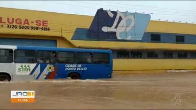 Chuva em Porto Velho: Vários pontos ficaram alagados - Fotos e vídeos enviados pelos nossos telespectadores.