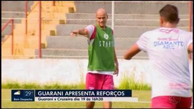 Com Ewerton Maradona, Guarani-MG apresenta pacotão para a elite do Mineiro - Confira as caras novas do Bugre