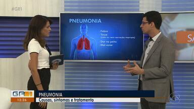 Conheça as causas, os sintomas e como é o tratamento da pneumonia - A doença se apresenta de várias formas e pode causar a morte.