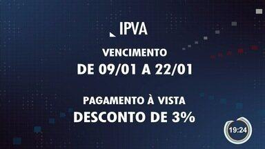IPVA no Estado de SP começa a vencer - Imposto deve ser pago pelas placas de final 1.