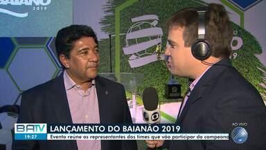 TV Bahia promove evento de lançamento do Campeonato Baiano 2019 - No evento irá ser anunciado novidades para o campeonato.