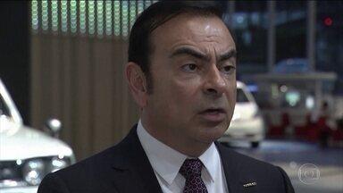Justiça do Japão faz nova acusação contra Carlos Ghosn - A ideia da nova denúncia é impedir que o brasileira deixe a prisão.