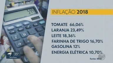 Inflação aumenta em 3,75% em 2018, segundo IBGE - O aumento é maior do que o de 2017, que foi de 2,95%.