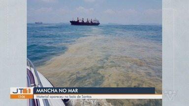 Substância despejada por navio no mar se espalha por quatro cidades no litoral de SP - Ibama, Polícia Federal e Marinha investigam descarte irregular de resíduos por cargueiro estrangeiro enquanto aguardava para acessar o Porto de Santos, o principal do país.