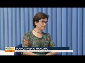 Deputada Alê Silva fala sobre propostas de trabalho e mandato - Eleita pelo PSL, deputada representa o Vale do Aço na Câmara Federal.