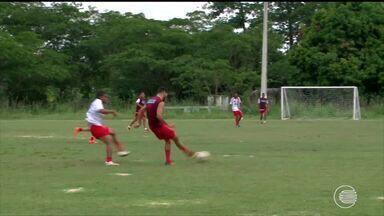 Flamengo-PI se prepara para amistoso contra o Caxias - Flamengo-PI se prepara para amistoso contra o Caxias