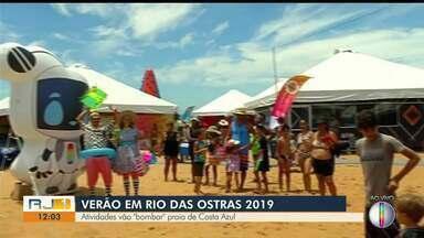 Programações especiais de verão agitam Rio das Ostras, Campos e Cabo Frio nesta sexta (11) - Assista a seguir.