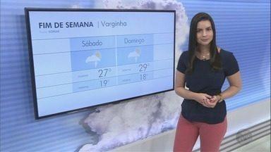 Confira a previsão do tempo para o fim de semana no Sul de MG - Confira a previsão do tempo para o fim de semana no Sul de MG