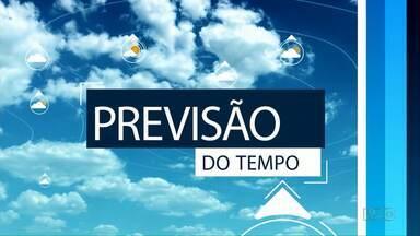 O calor predomina neste fim de semana na região de Ponta Grossa - As temperaturas passam dos 30 graus em algumas cidades.