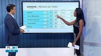 Fim de semana vai ser de tempo quente e chance de chuva no Sul do RJ - Confira a previsão do tempo para a região.