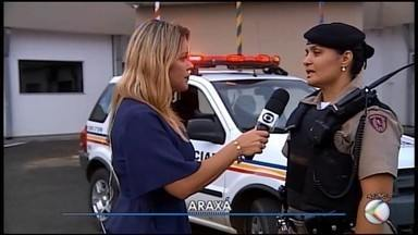 'Operação Fecha Batalhão' é deflagrada na região de Araxá - Policiais militares intensificaram a fiscalização nesta sexta-feira (11).