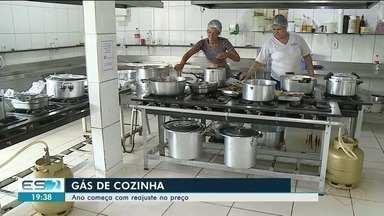 Ano começa com reajuste no preço do gás - Em Cachoeiro, está em média 2,50 mais caro.