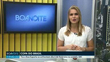 CBF define data de estreia do Foz na Copa do Brasil - Azulão da fronteira pega o Boa Esporte de Minas Gerais no dia 6 de fevereiro, às 20h30 no estádio ABC.
