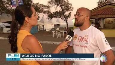 Sesc Verão Alô Farol 2019 terá diversos shows neste fim de semana em Campos, no RJ - Assista a seguir.