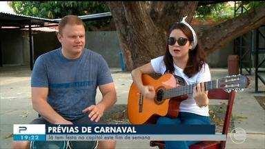 Começam as prévias carnavalescas em Teresina - Começam as prévias carnavalescas em Teresina