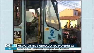 Novos ataques: caminhões e micro-ônibus queimados em Fortaleza - Autran Nunes e Itaperi foram palco de mais ações criminosas